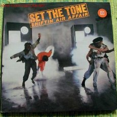 Discos de vinilo: SET THE TONE (SHIFTIN AIR AFFAIR) 1983 - LONDON LP33 ISLAND. Lote 1143687