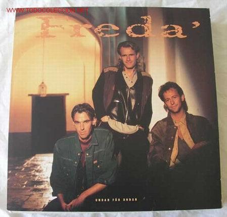 FREDA' (UDAN FOR UDAN) 1990 LP33 (Música - Discos - LP Vinilo - Pop - Rock Extranjero de los 90 a la actualidad)