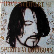 Discos de vinilo: DAVE STEWART AND THE SPIRITUAL COWBOYS 1990 - GERMANY LP33 RCA. Lote 676705