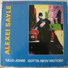 Discos de vinilo: ALEXEI SAYLE ( ULLO JOHN! GOTTA NEW MOTOR? ) 1982 MAXISINGLE 45. Lote 451054