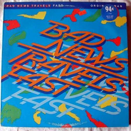 BAD NEWS TRAVELS FAST (ORDINARY MAN ) (Música - Discos - LP Vinilo - Otros estilos)