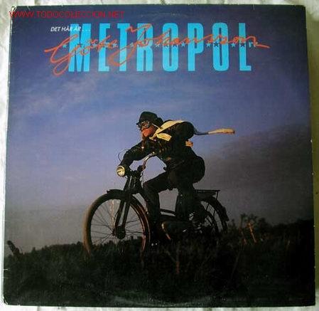 GÖTE JOHANSSON ( DET HÄR ÄR GÖTE JOHANSSON ) ''DIALOGUE-RADIOPLAY'' 1985-SWEDEN LP33 SR (Música - Discos - LP Vinilo - Otros estilos)