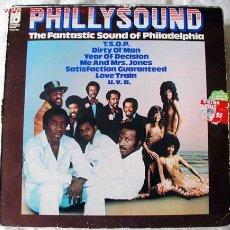 Discos de vinilo: PHILLY SOUND (THE FANTASTIC SOUND OF PHILADELPHIA) LP33. Lote 46418657