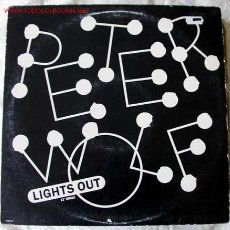 Discos de vinilo: PETER WOLF (LIGHTS OUT EXTENDED DANCE MIX) TOP-HIT IN USA MAXISINGLE 45RPM. Lote 470607