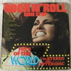 Discos de vinilo: 20 NON-STOP ROCK N' ROLL HITS OF THE WORLD LP33. Lote 2240469
