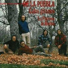 Discos de vinilo: 38) DISCO SENCILLO DE LOS ROMEROS DE LA PUEBLA (CELOS GITANOS Y LA PATRONA DE HUELVA).. Lote 25646691