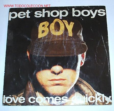 LOVE COMES QUICKLY/THAT'S MY IMPRESSION (PET SHOP BOYS).1986. (Música - Discos de Vinilo - Singles - Pop - Rock Extranjero de los 80)