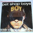 Discos de vinilo: LOVE COMES QUICKLY/THAT'S MY IMPRESSION (PET SHOP BOYS).1986.. Lote 4153586