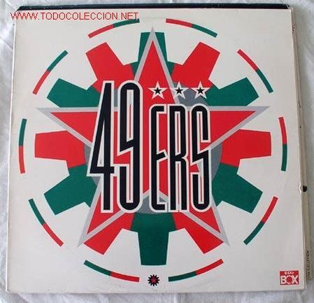 49 ERS 'TOUCH ME , DON'T YOU LOVE ME...' 1990 LP33 (Música - Discos - LP Vinilo - Pop - Rock Extranjero de los 90 a la actualidad)