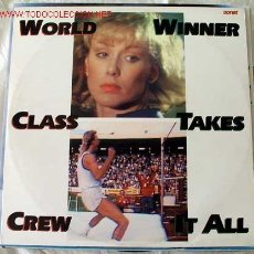 Discos de vinilo: WORLD CLASS CREW (WINNER TAKES IT ALL) MAXISINGLE 45. Lote 533979