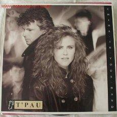 Discos de vinilo: T'PAU ( CHINA IN YOUR HAND ) MAXISINGLE 45. Lote 534043