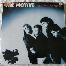 Discos de vinilo: THE MOTIVE (8MISS YOU SO MUCH) 1986 MAXISINGLE 45. Lote 542501