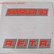 Discos de vinilo: R,F.T.R. (SAMPLER '83) MAXISINGLE 45. Lote 542657