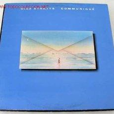 Discos de vinilo: DIRE STRAITS ( COMMUNIQUÉ) LP33. Lote 205342001