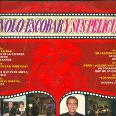 Discos de vinilo: MANOLO ESCOBAR Y SUS PELÍCULAS. Lote 27060925