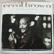 Discos de vinilo: ERROL BROWN 45RPM. Lote 2379580