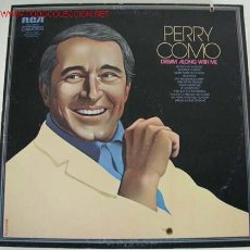 Discos de vinilo: PERRY COMO (DREAM ALONG WITH ME) USA-1957 LP33. Lote 546864