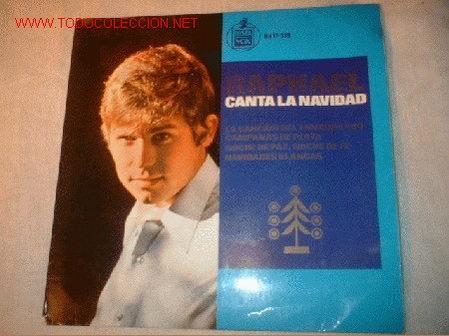 SINGLE DE RAPHAEL CANTA LA NAVIDAD. (Música - Discos - Singles Vinilo - Solistas Españoles de los 50 y 60)