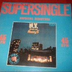 Discos de vinilo: LP 45 R.P.M. SUPERSINGLE ESPECIAL DISCOTECA.RCA. AÑO 1979.. Lote 576625