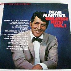 Discos de vinilo: DEAN MARTIN'S (GREATEST HITS! VOL.1) LP33. Lote 578943