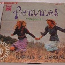 Discos de vinilo: DISCO FEMMES MUJERES SINGLE. Lote 8287666