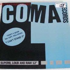 Discos de vinilo: SUPERB, LOUD & RAW (I CAN'T STAND IT (HIP HOUSE MIX)) MAXISINGLE 45RPM. Lote 595140