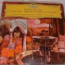 Discos de vinilo: DISCO LP ESTEREO MANUEL DE FALLA. Lote 5967485