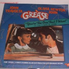 Discos de vinilo: SINGLE: GREASE, JOHN TRAVOLTA, ESTEREO. VV. Lote 10046601