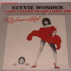 Discos de vinilo: DISCOS :DISCO SINGLE STEVIE WONDER VV. Lote 22235832