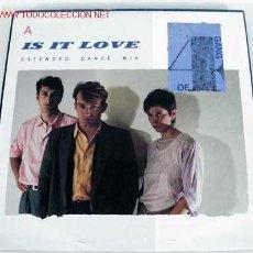 Discos de vinilo: GANG OF FOUR (IS IT LOVE / DANCE MIX) MAXISINGLE 45RPM. Lote 631944