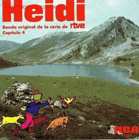 HEIDI (Música - Discos - Singles Vinilo - Bandas Sonoras y Actores)