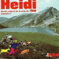 Discos de vinilo: HEIDI. Lote 632648