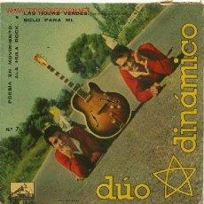Discos de vinilo: DÚO DINÁMICO AÑO 1961. Lote 26832715