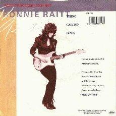 Discos de vinilo: BONNIE RAITT - THING CALLED LOVE. Lote 637339