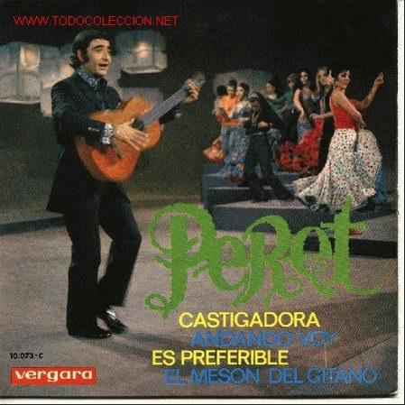 PERET (Música - Discos de Vinilo - EPs - Flamenco, Canción española y Cuplé)