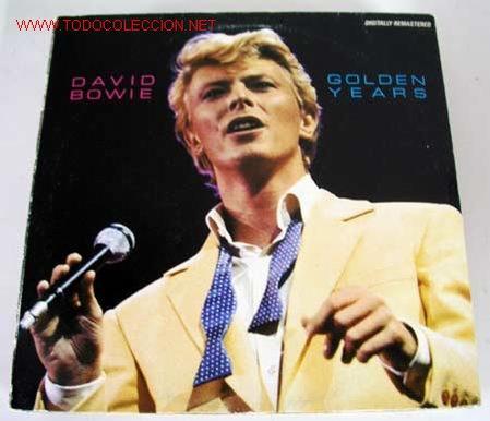 DAVID WOBIE (GOLDEN YEARS) LP33 (Música - Discos - LP Vinilo - Pop - Rock - New Wave Extranjero de los 80)