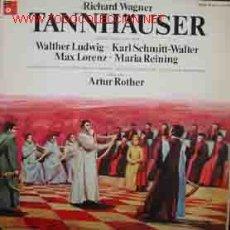 Discos de vinilo: RICHARD WAGNER : TANNHÄUSER. Lote 14182355