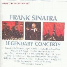 Discos de vinilo: FRANK SINATRA - CARPETA CON TRES LPS.. Lote 24244759