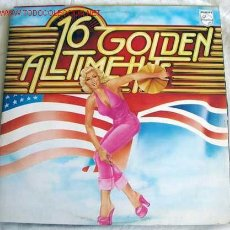 Discos de vinilo: 16 GOLDEN ALL TIME HITS (CHUCK BERRY,FATS DOMINO,ROD STEWART,DAVE DEE DOZY BEAKY MICK & TICH) LP33. Lote 10837383