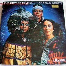 Discos de vinilo: THE RITCHIE FAMILY ( ARABIAN NIGHTS ) 1976 - GERMANY LP33 RCA. Lote 661587