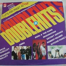 Discos de vinilo: DOUBLE HITS (ABBA,U2,RITCHIE FAMILY,ROBERT PALMER,KOOL & THE GANG...) LP DOBLE 33. Lote 5728576
