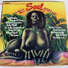 Discos de vinilo: THE SOUL GOES ON (THE TYMES, CAROL DOUGLAS, WILSON PICKETT, GEORGE MCCRAE...) LP33. Lote 745595