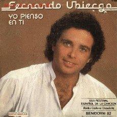 Discos de vinilo: FERNANDO UBIERGO. Lote 665855
