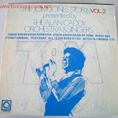 Discos de vinilo: THE ALAN CADDY ORCHESTRA & SINGERS (TOM JONES VOL.2) LP33. Lote 5850062