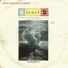 Discos de vinilo: LEVEL 42. Lote 667975