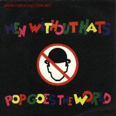 Discos de vinilo: MEN WITHOUT HATS . Lote 668002