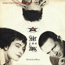 Discos de vinilo: SISTER & SWING. Lote 668161