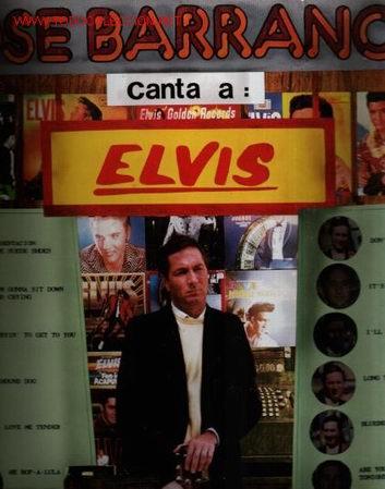 MUSICA GOYO - LP - JOSE BARRANCO (LOS ESTUDIANTES) - CANTA A ELVIS PRESLEY *EE99 (Música - Discos - LP Vinilo - Solistas Españoles de los 50 y 60)