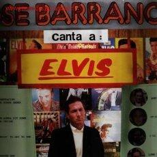 Discos de vinilo: MUSICA GOYO - LP - JOSE BARRANCO (LOS ESTUDIANTES) - CANTA A ELVIS PRESLEY *EE99. Lote 22555156