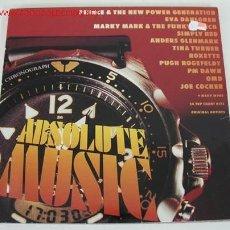 Discos de vinilo: ABSOLUTE MUSIC 12 (JULIAN LENNON, TOM PETTY, MARC ALMOND,JOE COCKER, PRINCE,ROXETTE...) LP33 DOBLE. Lote 10836794